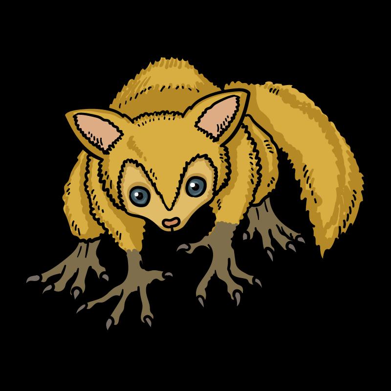 金毛猿のイラスト