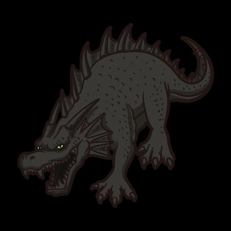 シャドウドラゴンのイラスト