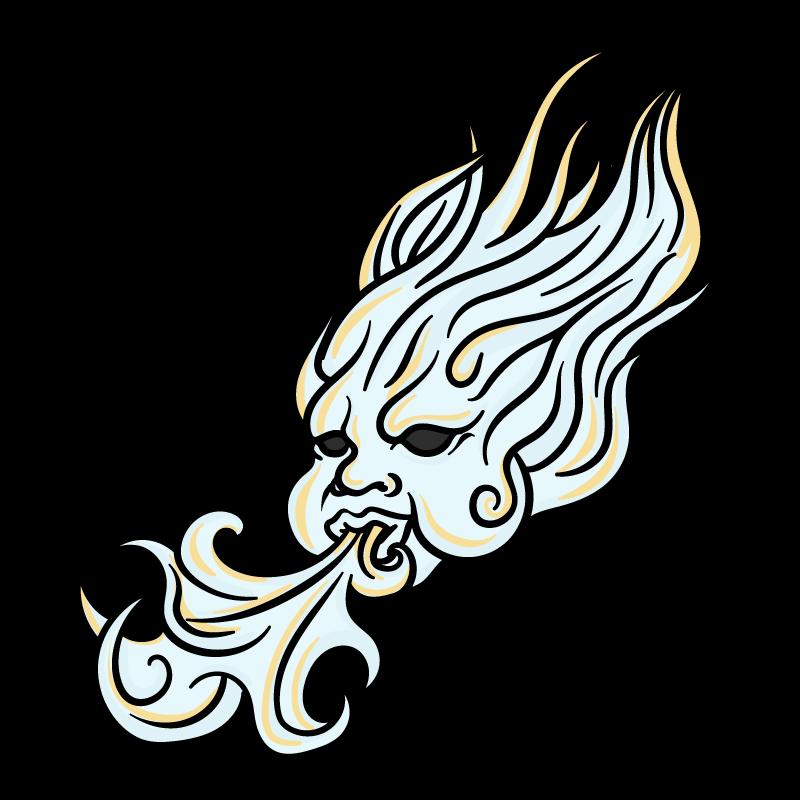風の子のイラスト