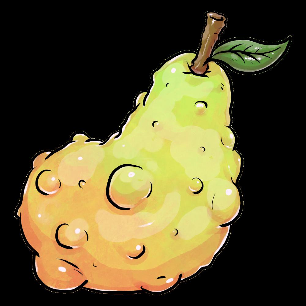 謎の果実のイラスト