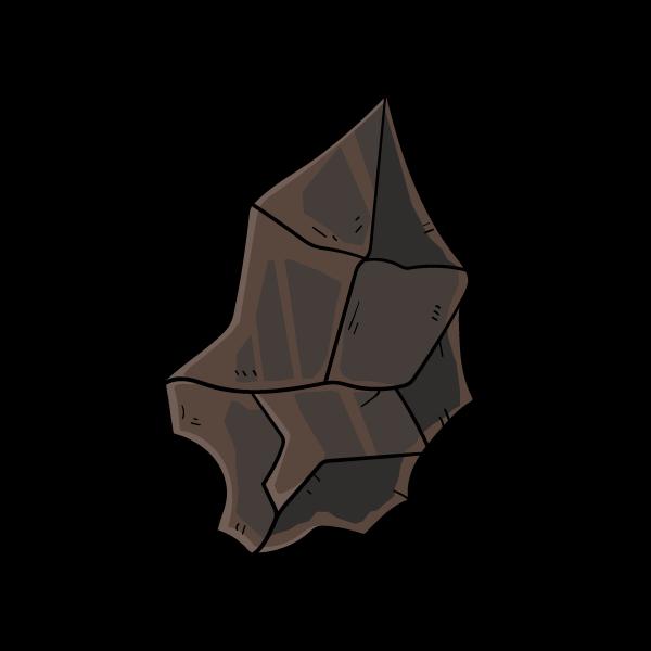 隕鉄の欠片のイラスト
