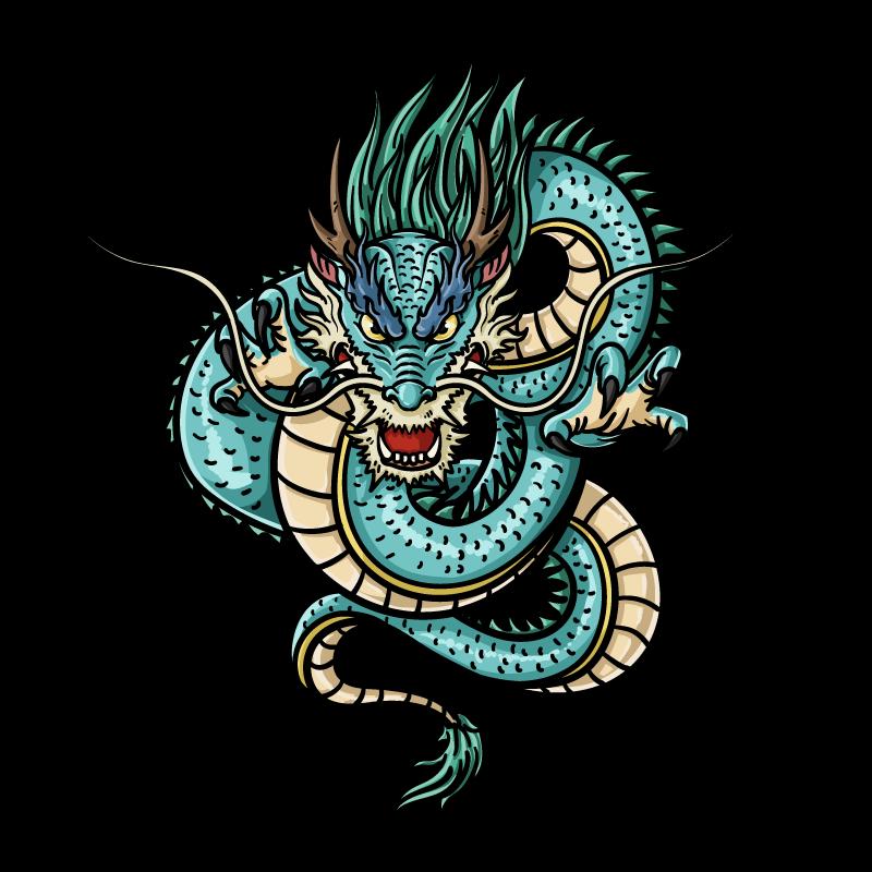 龍神様のイラスト